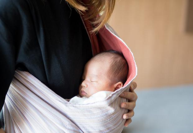 里帰り出産のイメージ