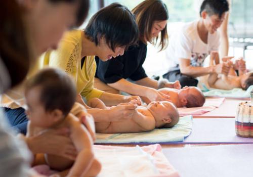 産後のママとベビー向け教室・イベントのイメージ